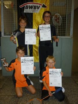 Start der Badmintonjugend in die neue Saison geglückt! 1
